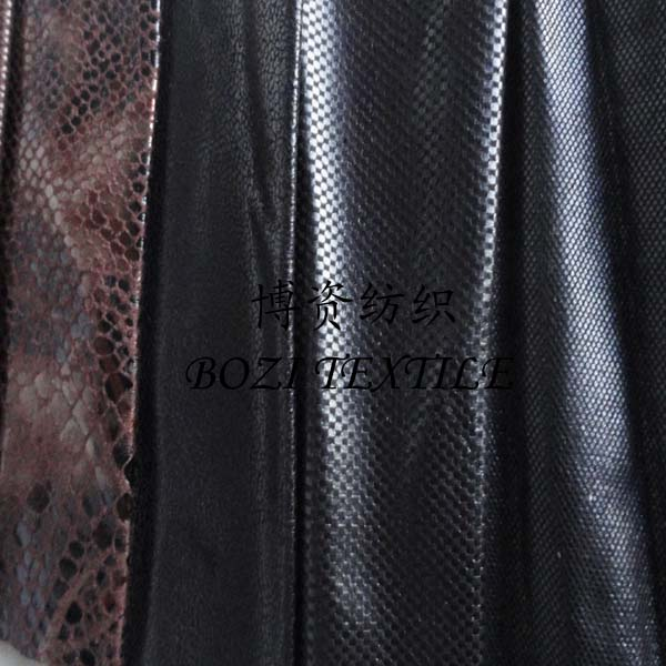 metallic suede fabric/hot stamping suede fabric/faux sherpa suede