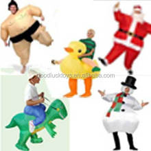 hot sale animal air inflated costume for adults