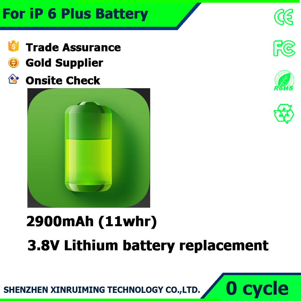 New arrival buit-in Replacement batteries for Iphone6 Plus Original all model battery for mobile phone