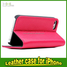 Made in China low price flip leather phone case for Apple iphone 5S 6 6PLUS