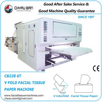 Budget Cost Facial Tissue Paper Machine