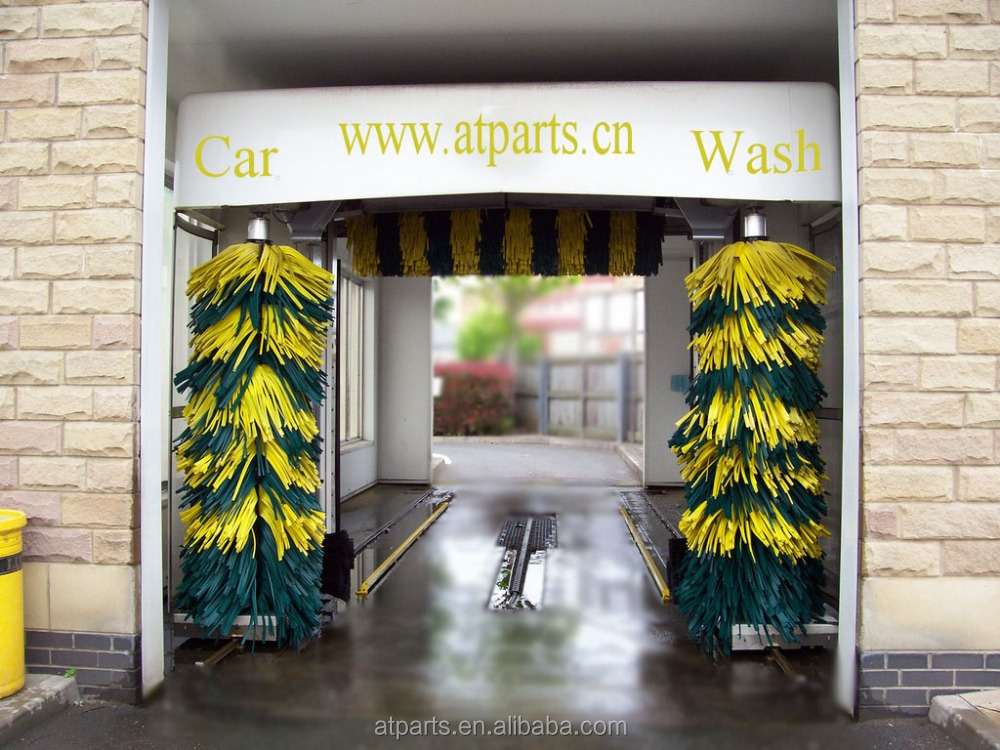 Drive Through Car Wash Equipment at-T825 for The Small and Medium Size Vehicle to High Pressure Water Washing
