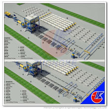 air turning fly ash AAC block machine 30000-300000 M3 per year