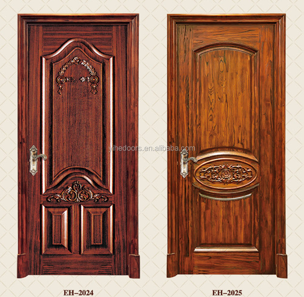Kitchen wooden door polish painting design buy wooden for Kitchen main door design