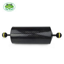 "Seafrogs GA-7 10""/25.4cm D60mm Carbon Fiber Underwater Float Arm for Video Light/Strobe mounting"