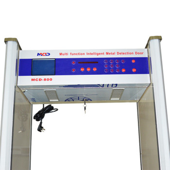 MCD-800 Hypersensitized Door Frame Metal Detector or Walkthrough metal detector