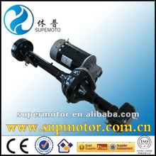 electric golf cart dc motor with axle