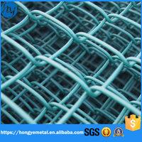 High Quality Blue Vinyl Coated Chain Link Fence(Low Price)