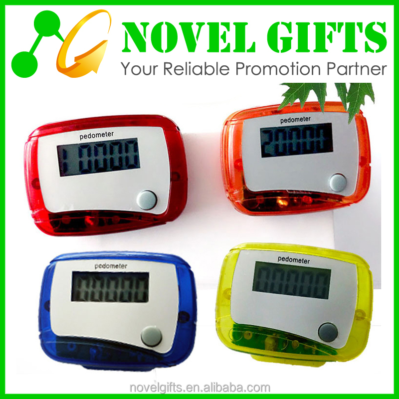 Promotion Cheap One Button Simple Step Counter Pedometer