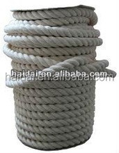 haidai 3 strands cotton twisted rope nature colour in stock