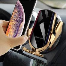Universal Smartphone Car Air Vent Mount Holder Automatic locking by Infrared Wireless Car Charger <strong>Mobile</strong> <strong>Phone</strong> Holder in Car