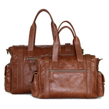 Italian Style Unisex Luxury Handmade custom-made leather bag handbags