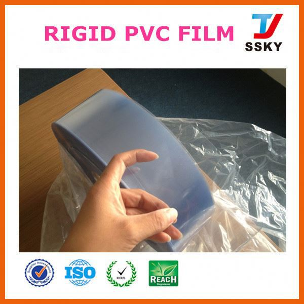 Online wholesale blue roll packaging flexible plastic sheet pvc film for label