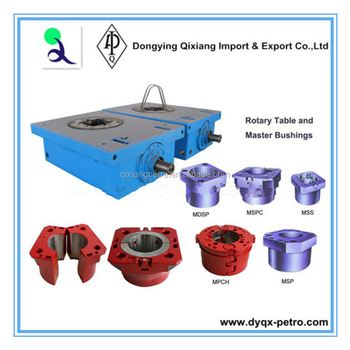 High quality API 7K rotary table for oil drilling rig