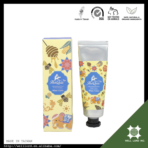 White citrus moisturizing shea butter skin care 50g hand cream set