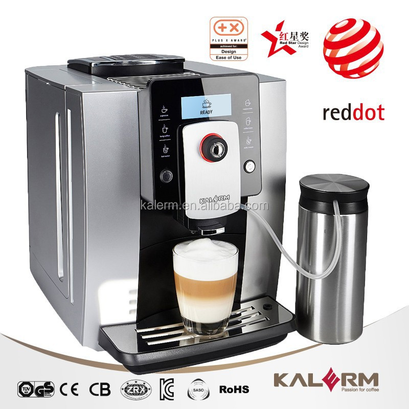 2016 Professional Mid to High End Bean to Cup Coffee Machine
