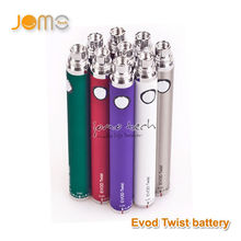 2014 variable voltage evod vaporizer battery e cigarette evod twist
