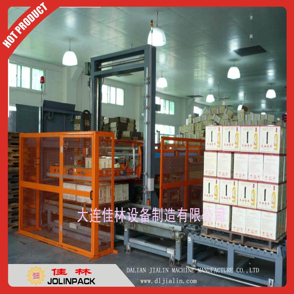 Automatic stainless steel food stackers
