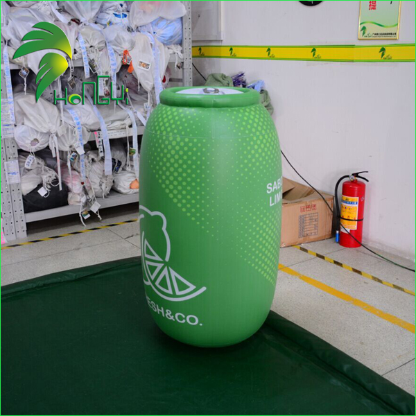 Airtight PVC Inflatable Beer Cans Shape , Shop Advertising Inflatable Bottle Model For Sale