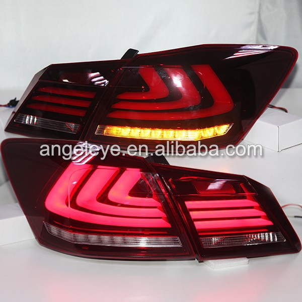 For Honda Accord 2013-2014 year LED Rear Lamp Red White Color YZ