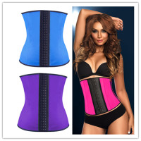 Trending hot women body shaper slimming corset waist trainers latex