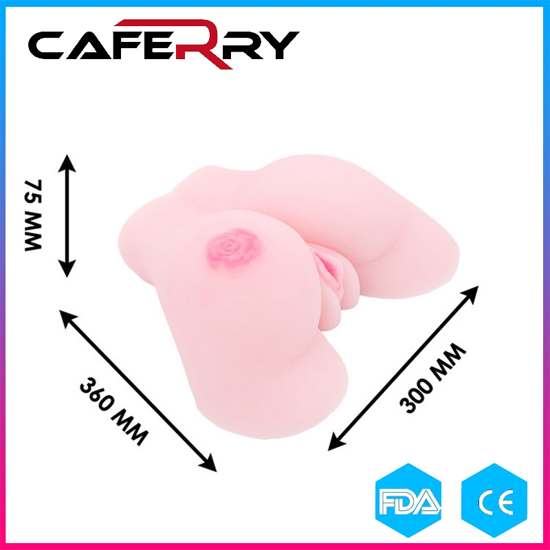 Realistic Pussy Sex Toys for Man Artificial TPE Silicone Vagina