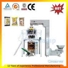10 Heads Weigher Full Automatic Food Weighing and Packing Machine