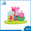 Kids Educational Fancy Wood Garden Toy Blocks