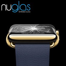 Mobile Phone Use nuglas Glass for Apple watch/Use For Apple Watch 3D Full Cover Tempered Glass for samsung s7 edge