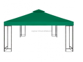 gazebo10'x10' double roof party tent Waterproof gazebo cover canopy green