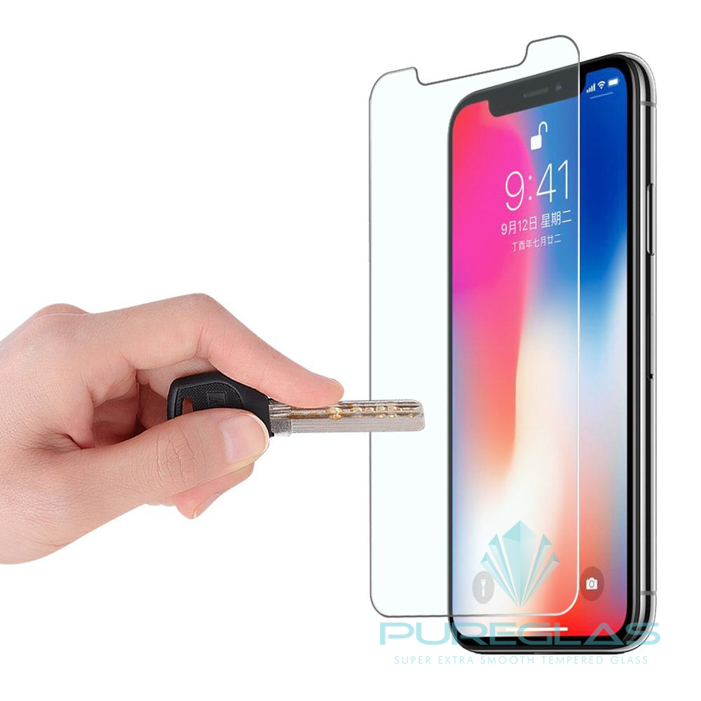 Fast Delivery Shatterproof For Iphone X Protector Wholesale 2.5D Full Size Tempered Glass Screen