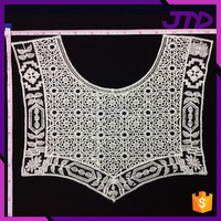 Polyester Crochet Lace Collar Neck Lace for Lady Garments Lace Collar Necklace Wholesale