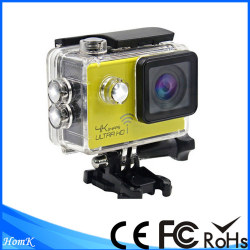 Waterproof 2 inch LCD 170 degree Lens 4K WiFi Sport Camera
