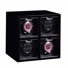 Automatic Rotating Wooden Self-winding Watch Winder,vollmond watch winder box for 4 watches