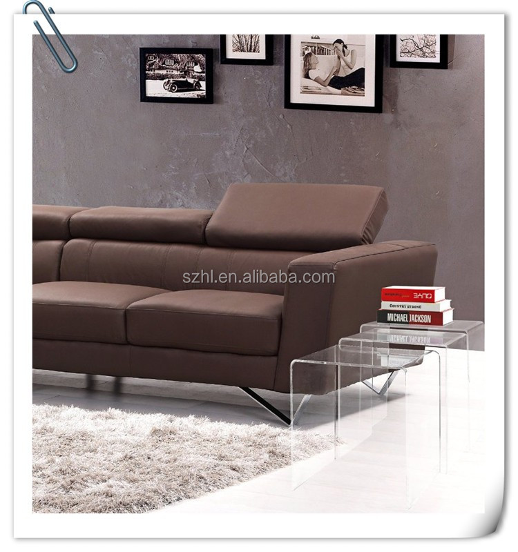 acrylic meterial crystal clear acrylic coffee table
