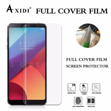 3D full cover High Clear no bubble privacy TPU Screen Protector for LG G6
