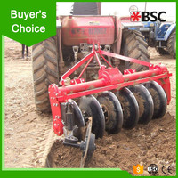 Advanced tractor mounted 3 blades disc plough manufacturer