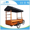 vending tricycle for sale High Quality Electric Coffee bike food cart
