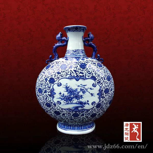 Chinese Antique Porcelain Vases Ming