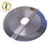 Manufacture solid finished tungsten carbide circular saw blade ; precision 330 mm slitting saw ; big carbide round cutter ;