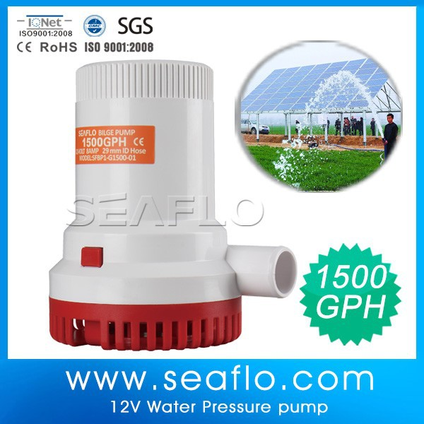 12V DC Cheap Price Centrifugal Submersible Well Water Pump for Marine & Industrial