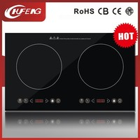touchable multifunction induction cooker CH-D19 2 plate