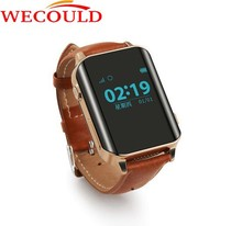 WECOULD 2016 New SOS Watch Tracker SIM Card 2-way Communication Wrist Watch Phone Personal GPS Trackers