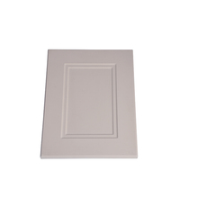 Fast processing speed pvc coated single flush door price for kitchen cabinet
