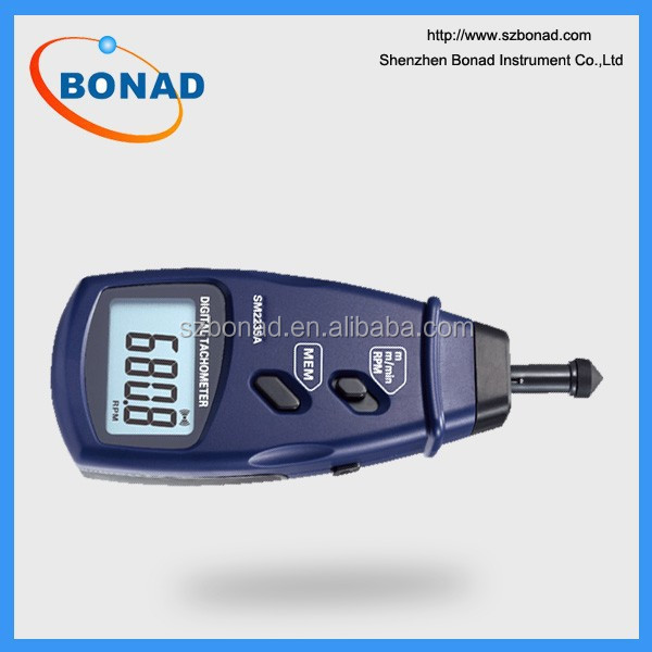 Digital Contact Tachometer Surface Speed Meter