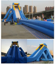 2015 Direct Manufacture Top sales giant inflatable water slide