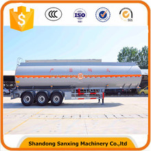 Hot sale 3 Axles 50000 liters capacity fuel tank truck semi trailer With Loading and Discharging Pumps