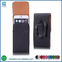 New products Universal flip phone case Leather Pouch Protective cover Purse for iphone 6s