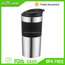 350ml thermos double wall coffee and tea mug, the fresh way to brew fresh RH514-350