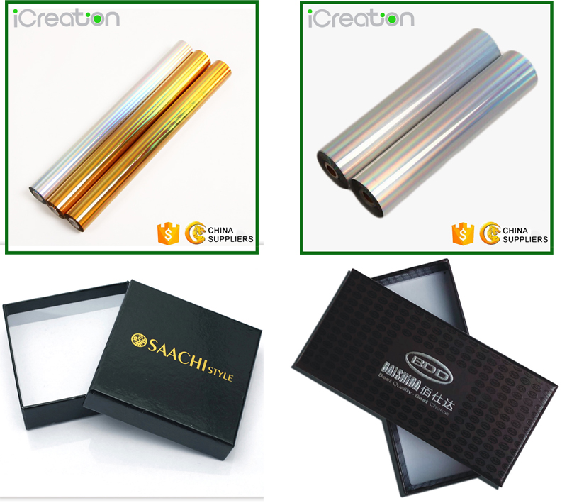 PET Film coating with Aluminum metallic Gold Silver heat transfer materials